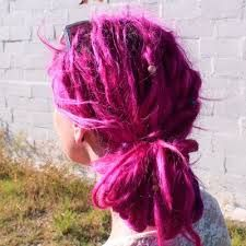 Image result for real dyed dreadlocks