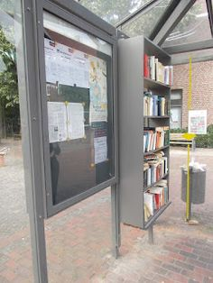 Pop up library in Germany
