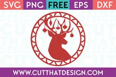 Cut That Design provides a large selection of Free SVG Files for Silhouette, Cricut and other cutting machines. Available in SVG, DXF, EPS and PNG Formats. Christmas Deer, Christmas Quotes, Christmas Projects, Free Christmas Printables, Silhouette Projects, Svg Files For Cricut, Gift Tags, Free Silhouette, Silhouette Cameo