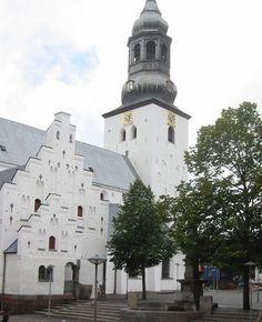 Budolfi Church in Aalborg. Aalborg, Notre Dame, Building, Travel, Places, Viajes, Buildings, Destinations, Traveling