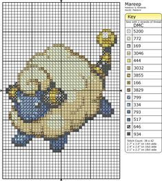 179 - Mareep by Makibird-Stitching on DeviantArt