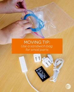 Get organized for your move with these handy tips that will make it easy to find the important things that keep you connected when you're unpacking. Click for more helpful moving tips and tricks.