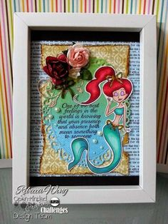 Scrapping with LUV: Open-Minded Crafting Fun Challenges #28: Movie Inspiration