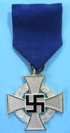 Nazi 25 years of faithful sevice  award