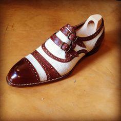 #ribertougolini #bespoke shoes# linen and leather shoes#