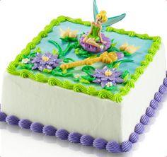 Tinker Bell Ice Cream Cake - I think I found the birthday cake I want!