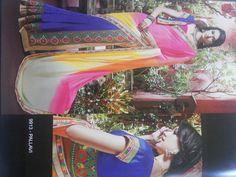 Kutchi fancy patli design saree
