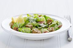 Turkey Bacon-Caesar Salad