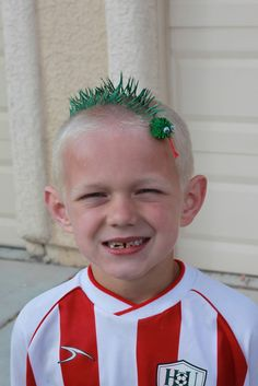 Image result for wacky hair for boys