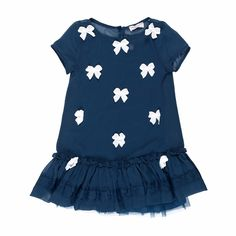 Dress Cow Girl (panna-blu-rosso) - Girl - Spring/Summer 2013 - - Girl fashion clothing Girl fashion baby - Monnalisa Dreams 144€