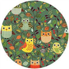 COMING SOON, Makower UK, Forest Friends, Owls Clover