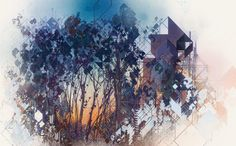 Geometrees by Android Jones. Android Jones, Trippy Pictures, All Paper, New Words, All Print, Impressionism, Art Images, Psychedelic, Photo Art