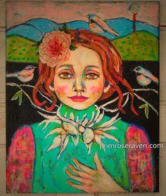 Enchanted by primrose8raven on Etsy Artist Dana Bloede