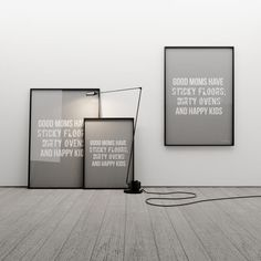 GOOD MOMS 50x70 - MINIMALLIVING - Wydruki i plakaty