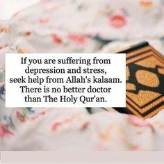 Seek help from the Qur'an