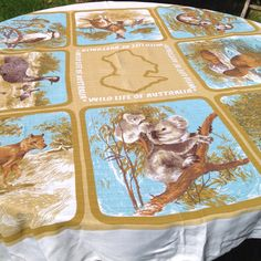 A personal favourite from my Etsy shop https://www.etsy.com/uk/listing/174689570/1970s-vintage-australia-souvenir-table