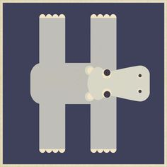H is for Hippo. Uppercase capital H hipopotamo Letter H Crafts, Letter H Activities, Abc Crafts, Alphabet Crafts, Daycare Crafts, Alphabet Book, Kindergarten Activities, Preschool Activities, Preschool Art