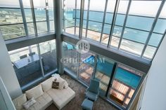 furnished penthouse duplex for rent in Diagonal Mar in Barcelona Duplex For Rent, Furnished Apartments For Rent, Luxury Apartments, Rental Apartments, Beach Apartments, Luxury Life, Luxury Real Estate, Rent In London, Real Estate Agency
