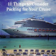 11 Things to Consider Packing for your Cruise