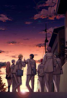 Teiko Team [Kuroko no Basuke]
