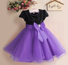 Formal Wear Purple Dress for 3T 4T Girls Deep Purple Dress for Girls - http://www.usedweddingresales.com/formal-wear-purple-dress-for-3t-4t-girls-deep-purple-dress-for-girls/