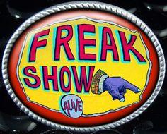 Freak Show Circus Vintage Art