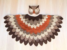 Owl Costume, Kids Costume, Eurasian Eagle-Owl, Bird Wings and Mask, Wing Cape Owl Costume Kids Costume Eurasian Eagle-Owl Bird Wings and Bird Costume Kids, Kids Costumes Boys, Carnival Costumes, Diy Costumes, Halloween Costumes, Owl Fancy Dress, Eurasian Eagle Owl, Owl Wings, Owl Feather