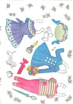 Petite Paper Dolls and Costumes, #4474 Saalfield 1960s (7 of 10)    sabine llorens   Álbumes web de Picasa