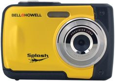 Bell+Howell - 12.0 Megapixel WP10 Splash Underwater Digital Camera (Yellow)
