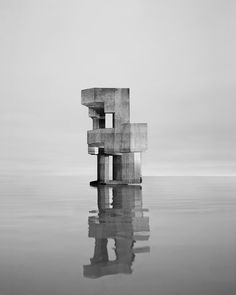 Observatories: Unusual concrete structures celebrated in striking black and white photo series | Creative Boom