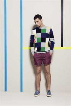 Sfilata MSGM Milano Moda Uomo Primavera Estate 2013 - Vogue