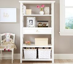 Love the open shelving for display and storage.Perfect size for any room. Catalina Storage Tower