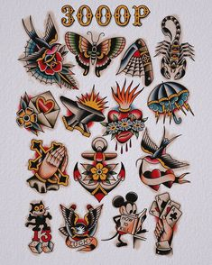 Color old school Old Tattoos, Badass Tattoos, Black Tattoos, Small Tattoos, Traditional Tattoo Old School, Traditional Tattoo Design, Tattoo Sketches, Tattoo Drawings, Labyrinth Tattoo