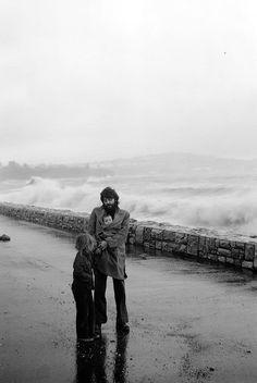 Heather McCartney and Mary McCartney inside Paul McCarney by Linda McCartney