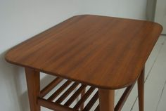 Danish Mid Century Side Table by WeirdGilly on Etsy
