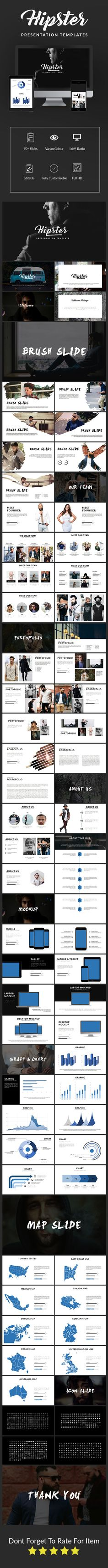 Mojo power point presentation power point presentation hipster presentation template toneelgroepblik Image collections