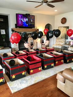 Mickey and the Roadster Racers drive in movie party. Mickey and the Roadster Racers drive in movie party. Slumber Parties, 3rd Birthday Parties, Baby Birthday, Kids Birthday Party Ideas, Mickey Party, Mickey Mouse Birthday, Party Favors, Movie Night Party, Baby Party