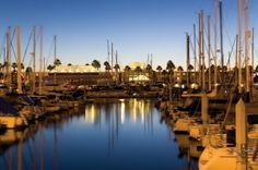 Sleep well at the luxurious Portofino Hotel & Marina in Redondo Beach, California