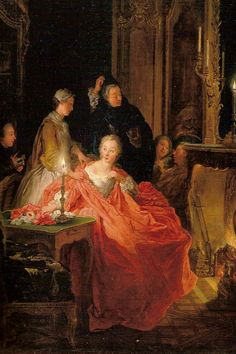 Jean-Francois De Troy After the Ball, 1735