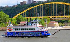 Gateway Clipper Fleet - South Shore: Three Rivers Sightseeing Cruise at Gateway Clipper Fleet (Up to Off) Long Beach, Sommer Make Up, Pittsburgh City, Pittsburgh Steelers, Lets Go Pens, Three Rivers, Ohio River, Boat Tours, Beautiful Landscapes
