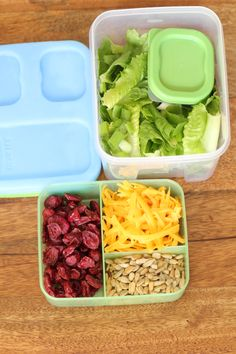 Back At School/Rubbermaid LunchBlox Salad Kit with 20 Lunch Ideas