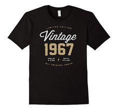 Amazon.com: 50th Birthday Shirts / Awesome 1967 Shirt Gift T 50th Tee: