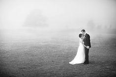 Dramatic bride and groom shot with lots of open space #weddingphotography #weddinginspiration #thephotographersboutique