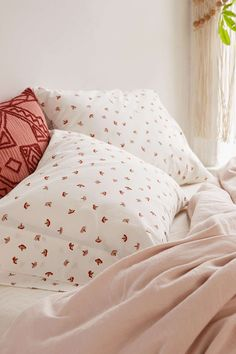 Mushroom Pillowcase Set