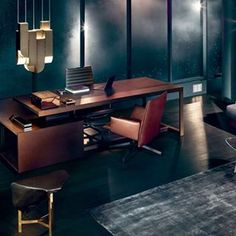 This office scene by @wallpapermag is everything. Featuring #Cora by @karlzahn in the November 2015 issue