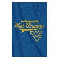 WVU West Virginia Mountaineers Sweatshirt Throw