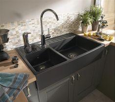 eviers de cuisine acryliques porcelaine cuisine pinterest cuisine et recherche. Black Bedroom Furniture Sets. Home Design Ideas