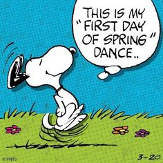 FIRST DAY of SPRING!!!