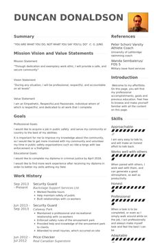 Hybrid Resume Examples Entrancing Resume Examples Law Enforcement  Resume Examples  Pinterest .