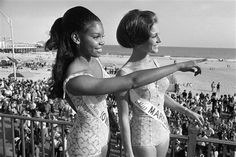 Author and Producer Sunny Nash, 1970. The First African American Miss America contestant with the title of Iowa..
